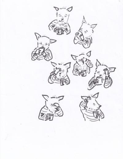 dessins du matin